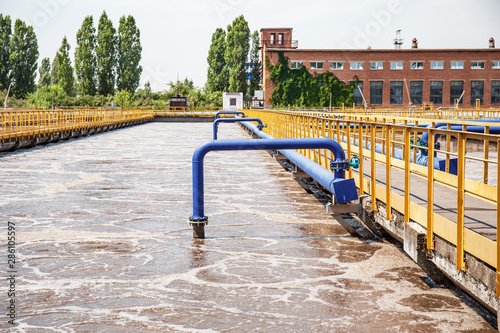 Wastewater treatment plant Canvas-taulu