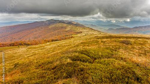 Fototapeta Bieszczady - Carpathians Mountains obraz