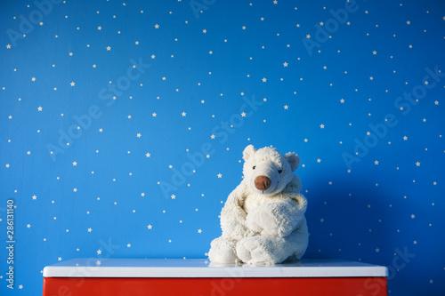 Foto op Plexiglas Ijsbeer polar bear toy