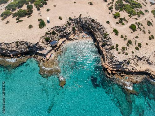 Cala Escondida, Ibiza. Spain.
