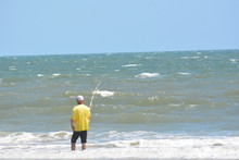 A Day At The Beach, St. Augustine, Florida