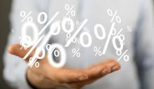 Sale Digital Percent In Hand