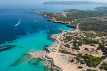 Ibiza Beach. Ibiza Summer. Cala Conta Beach, Ibiza. Spain.