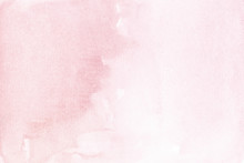 Blush Pink Watercolor Background Simple Soft Pastel Texture