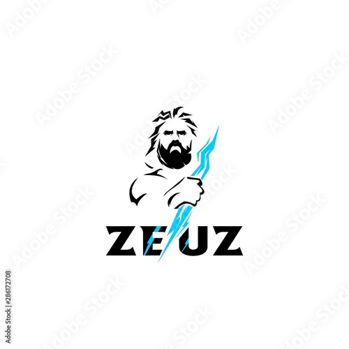 zeus logo concept Canvas Print