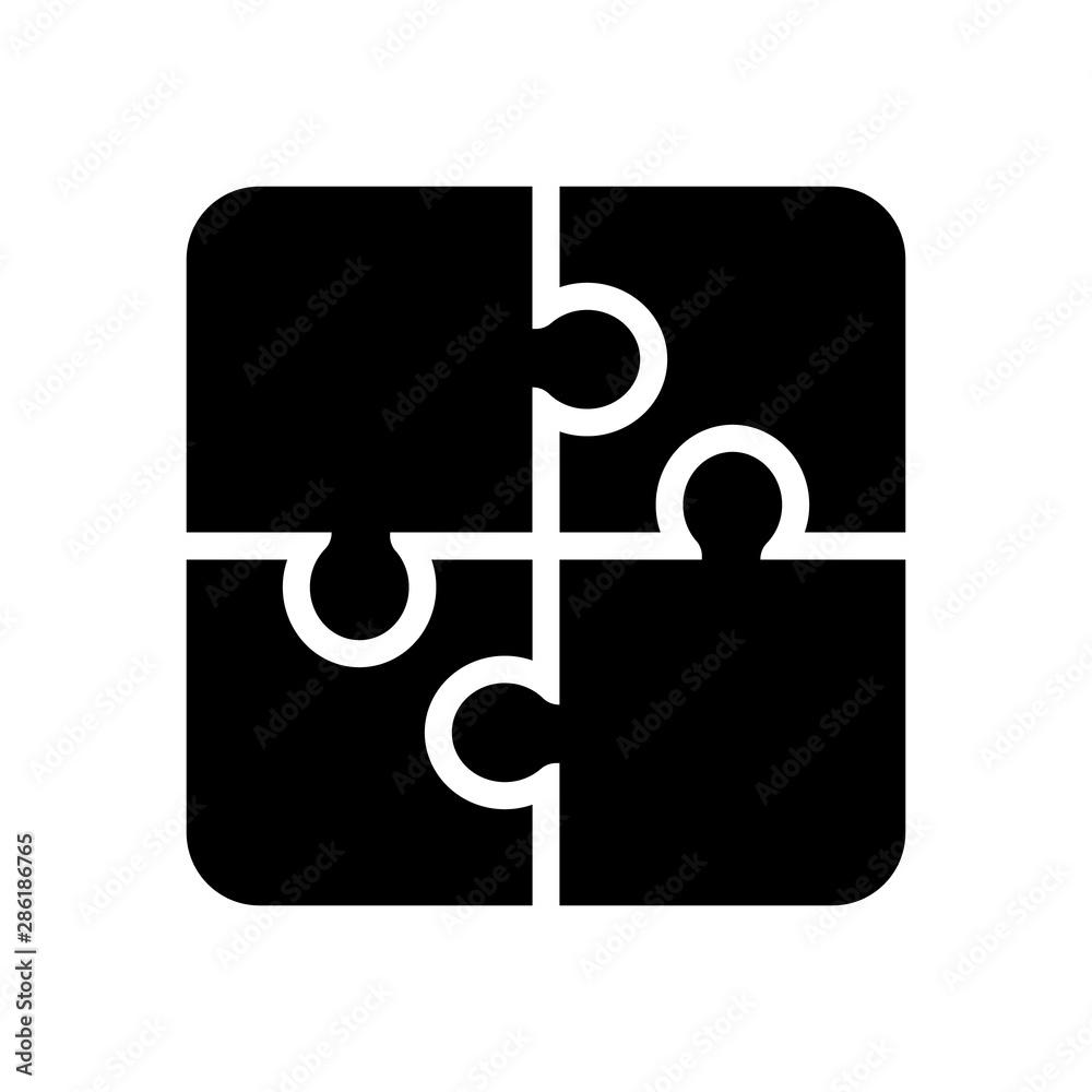 Fototapeta Puzzle icon