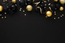 Minimalistic Christmas Flat Lay Background