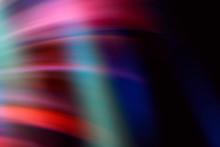 Abstract Light Leaks On Black