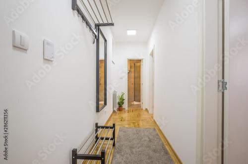 Tableau sur Toile Interior of an apartment entrance corridor