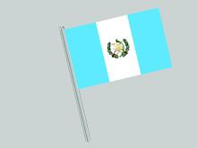 Guatemala Flagpole Of Beautifu...