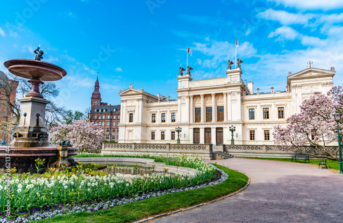 Fototapeta View of the lund university in Sweden obraz