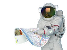 Astronaut Lost And Trying To R...