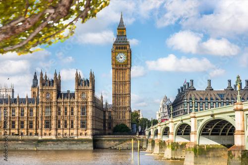 Fotografía  London Big Ben Europe travel destination in spring summer autumn season