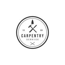 CARPENTRY SERVICE LOGO