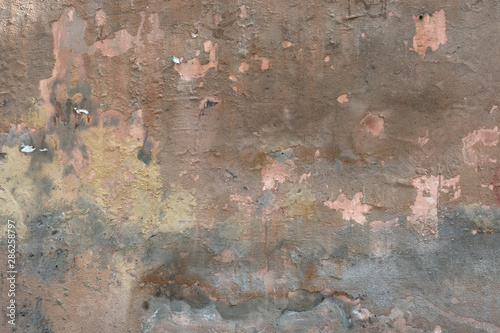 Photo sur Toile Vieux mur texturé sale Natural grunge stucco concrete wall texture backdrop surface