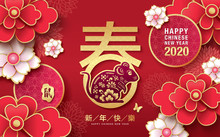 2020 Chinese New Year, Year Of...