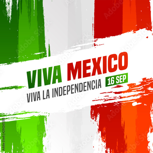 16 September Viva Mexico Independence Day Text In Spanish
