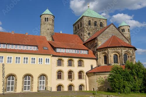 Staande foto Oude gebouw St Michael's church at Hildesheim on Germany