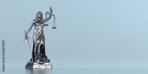 Photo Statue Lady Justice