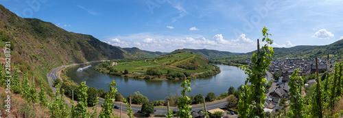 Fotografía  Panorama der Moselschleife bei Bremm/Deutschland