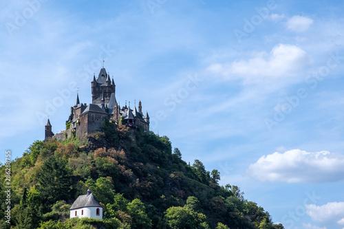 Die Burg von Cochem/Deutschland an der Mosel