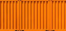 Orange Cargo Container Shippin...