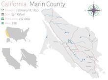 Large And Detailed Map Of Mari...