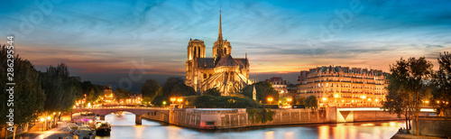 Canvas Print Notre Dame de Paris, France