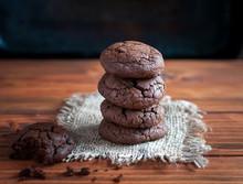 Close-up Of Homemade Chocolate...