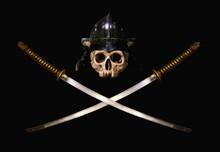 Skull Samuraj Black