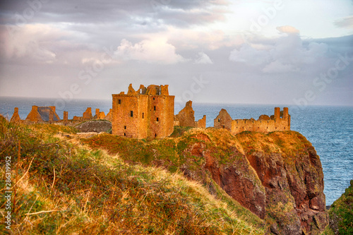 Photo Dunnottar Castle, Scotland, Great Britain, Europe