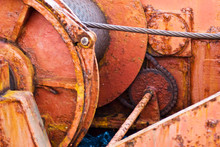 Detail From An Old Ship, A Tug...