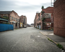 Old And Derelict Warehouse Nex...