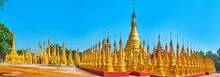 The Golden Pagodas Of Hang Si,...