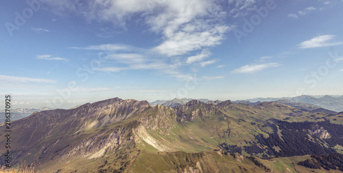 Fotografia, Obraz Chaîne de Montagnes - Alpes - Morzine