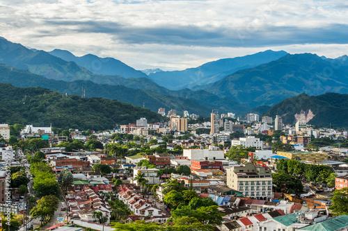 Fototapeta View of Villavicencio, Meta, Colombia obraz