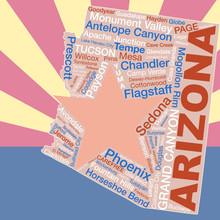 Arizona Flag Backdrop, Major C...