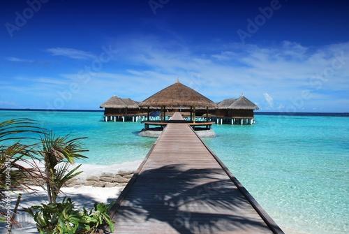 Fotografia  City Picture: Maldives (Pier and bangalore)