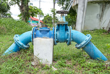 A Pump Station Delivers Water ...