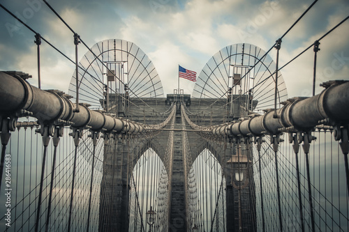 Photo sur Aluminium Brooklyn Bridge brooklyn bridge in new york