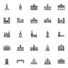 European Cities Landmarks Vect...