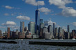 Manhattan New York City Panorama Skyline Blick von Jersey City