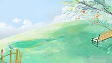 Summer, Summer, Hot, Hot Summer, Lixia, Summer Solstice, Big Summer, Small Summer, Summer, Nature, 24 Solar Terms, Solar Terms, Season, Climate, Phenology, Illustrations, Benches,
