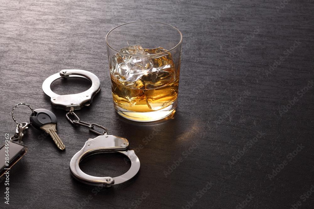 Fototapety, obrazy: 飲酒運転イメージ