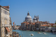 Views of streets and canals in Venice Italy