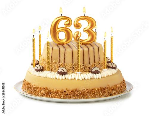 Papel de parede  Festliche Torte mit goldenen Kerzen - Nummer 63