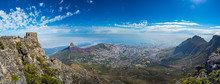 Panoramic View Of Cape Town, L...