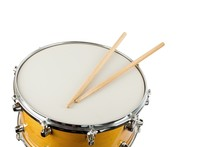 Drum And Wooden Drum Stick