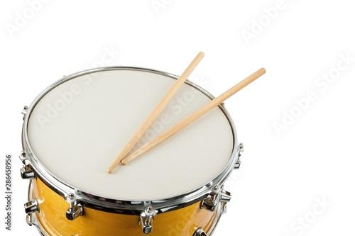 Fotografía  Drum and Wooden Drum Stick