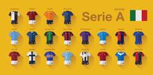 Serie A Home Jerseys 2019-20